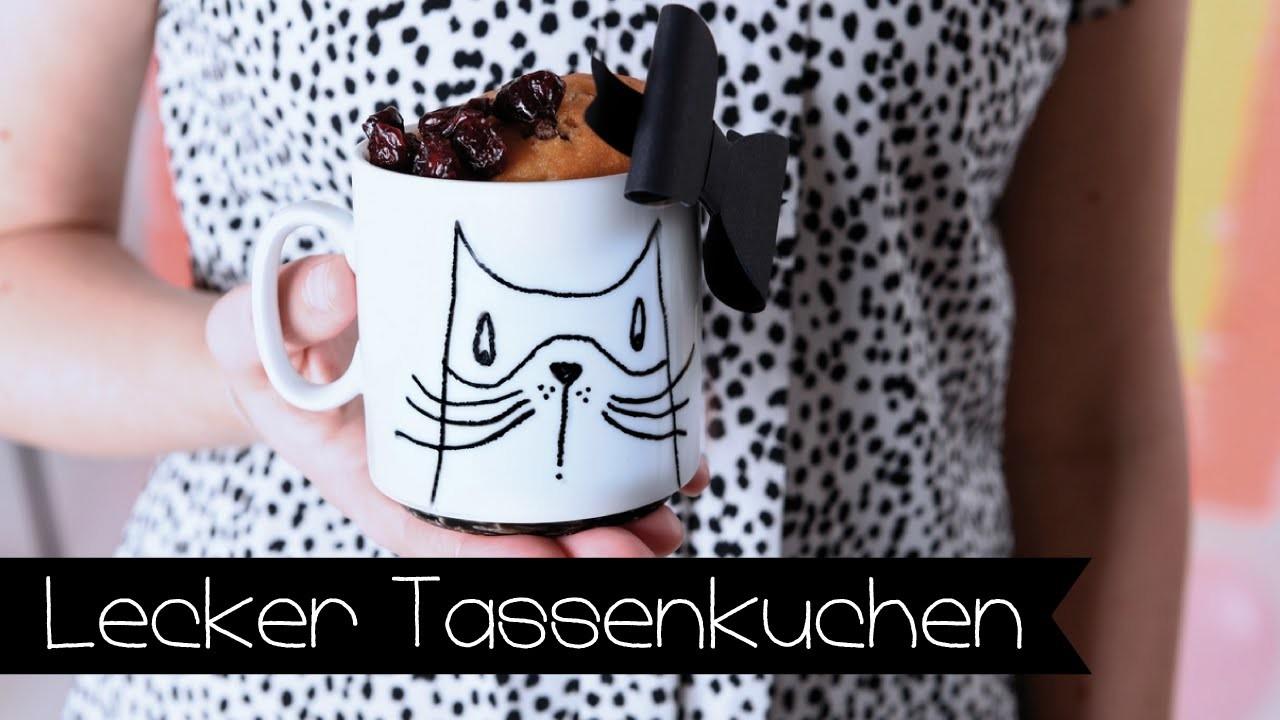 Stylischer Tassenkuchen I Tasse selber designen I DIY I Food I Backen I KINNERTiED #32