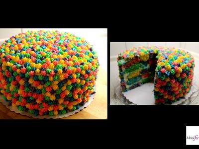 Rainbow Cake l Regenbogen Torte | MoniiFee