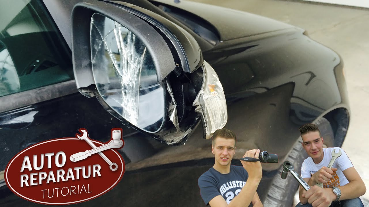 Außenspiegel wechseln   erneuern reparieren Tutorial [HD] VW BMW OPEL AUDI repair exterior mirrors