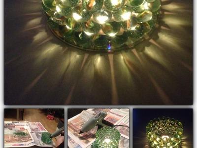 DIY Glasmurmel Kerzenhalter. Teelichthalter selbstgemacht - Bastelanleitung