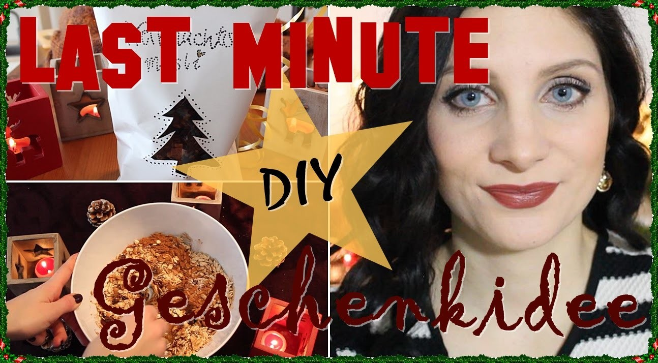 Last Minute-Geschenkidee | DIY | Weihnachtsgeschenk | Christmas Time