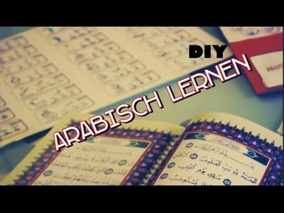 Arabisch lernen Lapbook DIY Teil 1