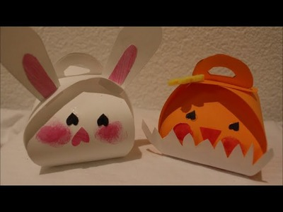 DIY: * Oster Special *Schachtel Osterhase und Küken l Basteln zu Ostern # 12