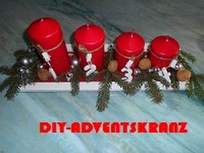 DIY-schöner Adventskranz