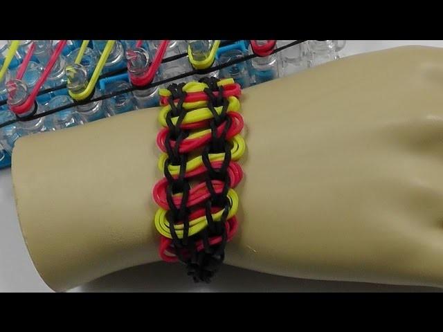 Loom Bands mit Rainbow-Loom - Armband - Deutsch - G