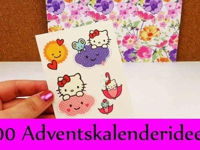100 Adventskalender Ideen | Super viele tolle Überraschungen für Kinder, Frauen, Männer & DIY Fans