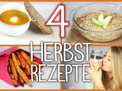 4 HERBSTLICHE DIY Rezepte + Große Community Verlosung!