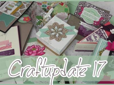 CRAFT Update #17 | Minikarten, Boxen & Geschenkverpackungen ♡