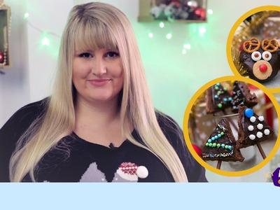 DIY BACKIDEEN FÜR WEIHNACHTEN II Weihnachtsbaum Cake Pops II Rudolph Muffins