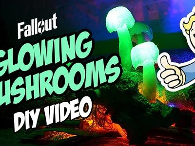 "DIY: ""Glowing Mushrooms"" - Fallout Inspired!"