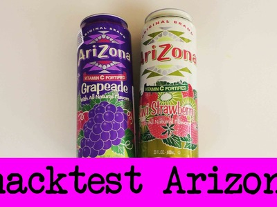 DIY Inspiration Snacktest: Arizona Icetea US-Import | Eva & Kathi testen die neue Sorte