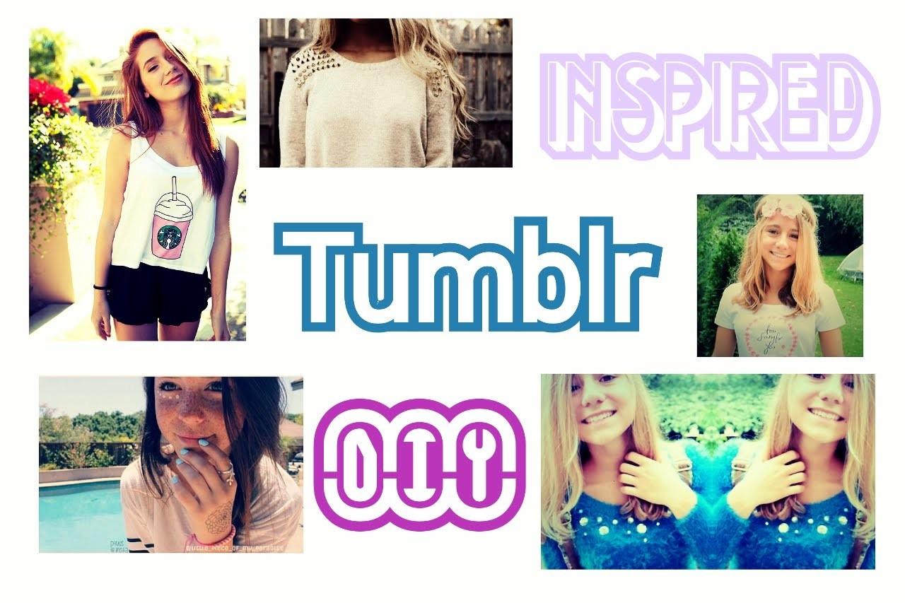DIY ✨   inspired Tumblr School-Clothes