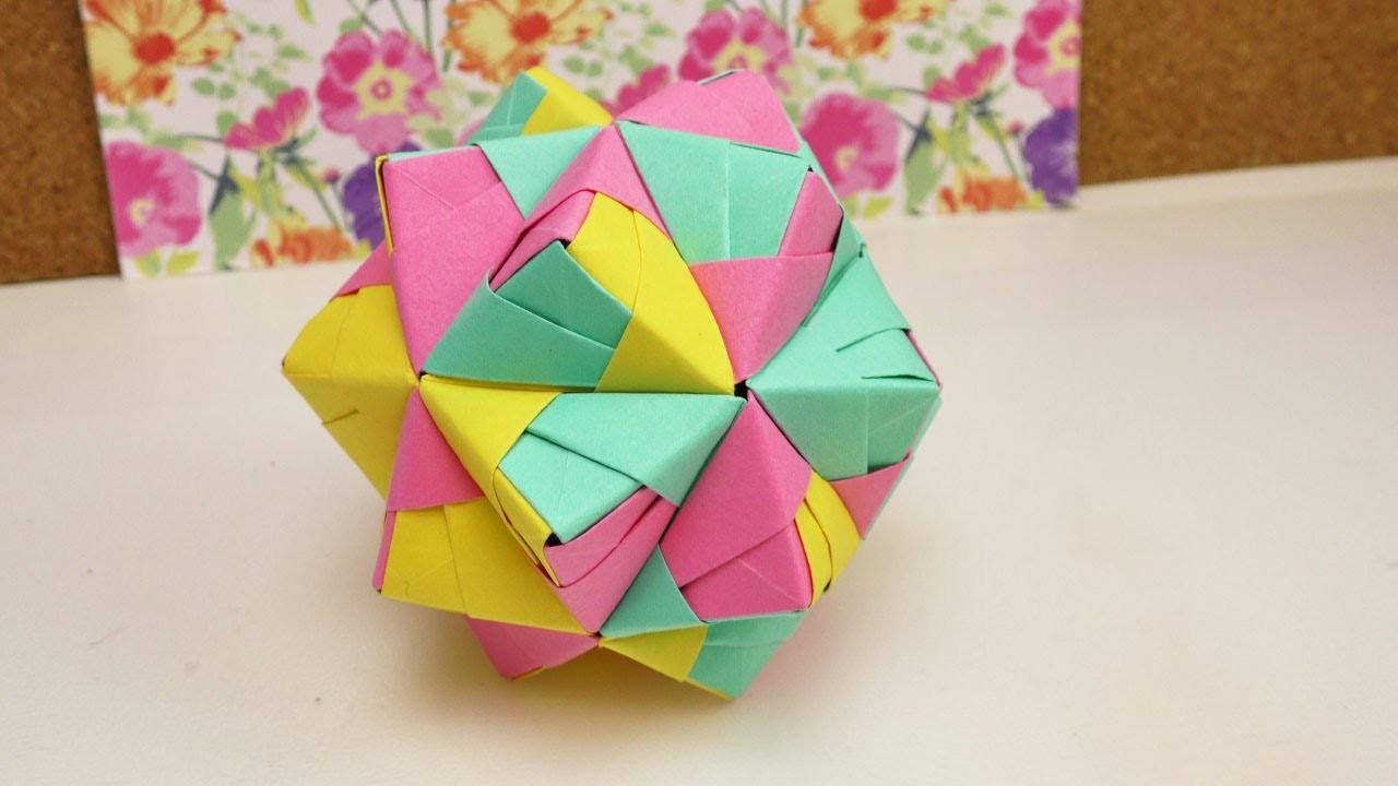 Sonobe star kusudama | 720x1280
