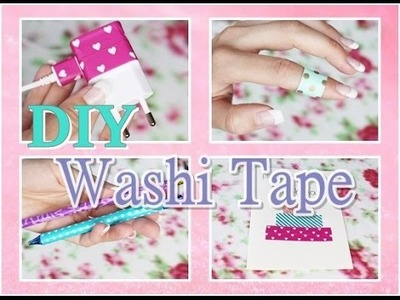 DIY Washi Tape Ideas. Belle Lu
