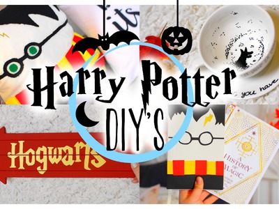 EASY HARRY POTTER DIY'S. Potterweek | ItzSannyz