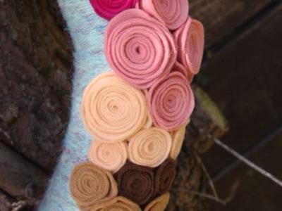 Einfach Filzblumen Basteln - DIY Crafts - Guidecentral