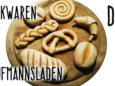 Gebäck für Kinderküche und Kaufmannsladen | DIY | Salzteig | Kindertipp | crafts