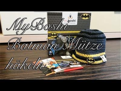 MyBoshi Batman Mütze häkeln