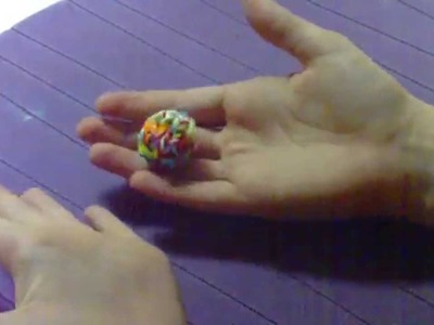Rainbow Loom Ball Anleitung 3 von 3