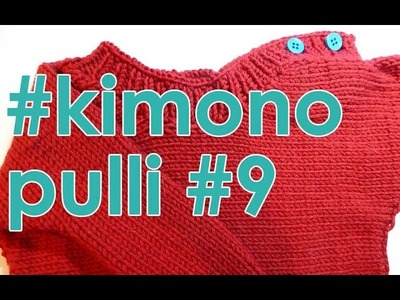 Stricken mit eliZZZa * Kimono-Pulli Teil 9
