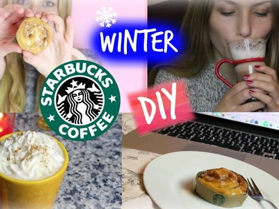 Winter STARBUCKS SNACKS & GETRÄNKE DIY ♥♥