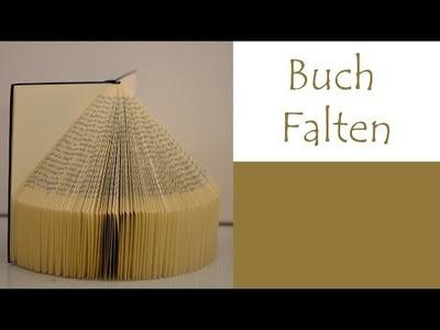 DIY Buch falten (sehr einfach) - DE