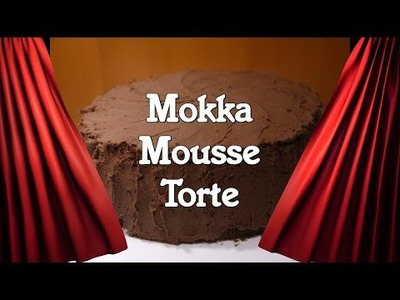 DIY Rezept Mokka-Mousse-Torte. Torte backen. Kuchen backen