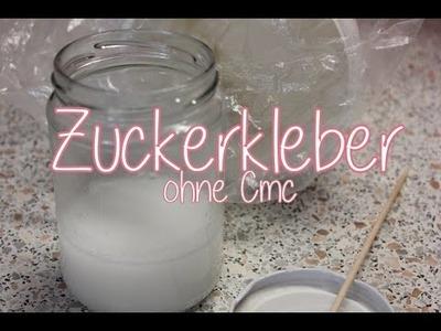 DiY Zuckerkleber ohne CMC -schnell hergestellt