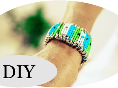 DIY Armband! How to make your own bracelet!
