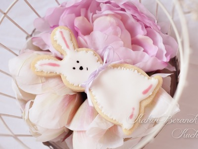 DIY Easter Bunny Cookies