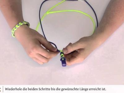 [DIY] Kreativ-Idee: Paracord Armband knüpfen 01