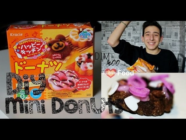DIY: MINI DONUTS! | Kracie happy kitchen