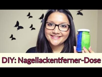 DIY: Nagellackentferner-Dose (Schwamm)