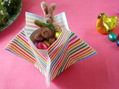 """DIY Osternest """"last minute"""" basteln. Easter gift"""