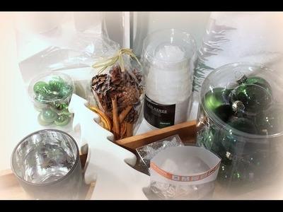 Einkaufshaul Depot - Adventskranz selber machen, weihnachtlicher Tischschmuck DIY-Ideen Weihnachten