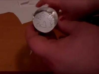 Last minute DIY Teelicht- Weihnachten.Christmas