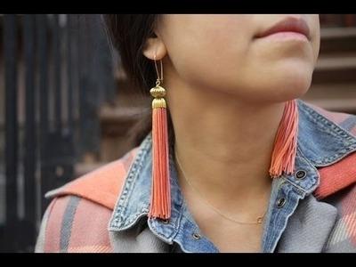 Ohrringe selber machen. Diy Ohrringe.