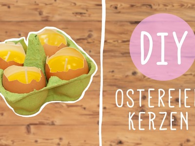 DIY mit Nina Moghaddam: Ostereierkerzen
