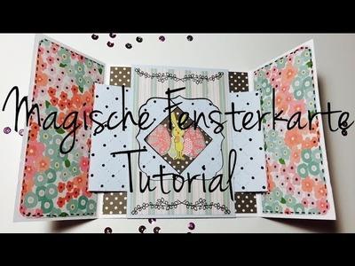 DIY ^^Magische ZeltKarte^^ [ tutorial | deutsch]