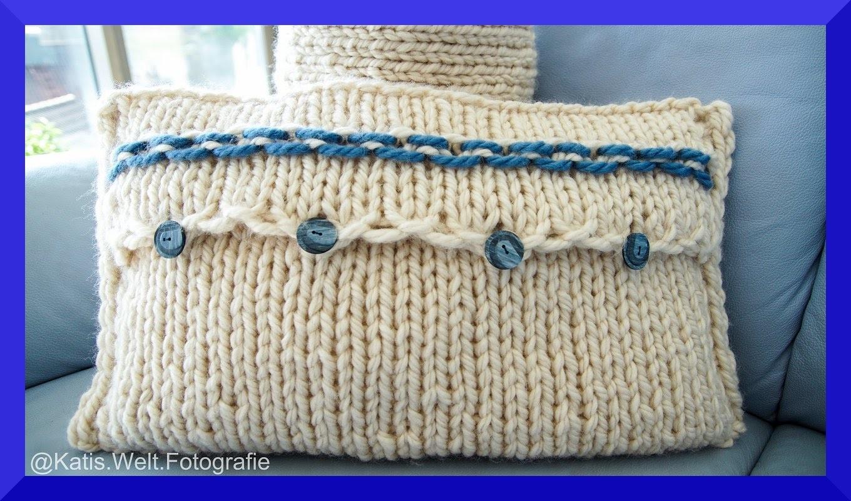 kissenbezug stricken nackenrolle diy h keln und stricken. Black Bedroom Furniture Sets. Home Design Ideas