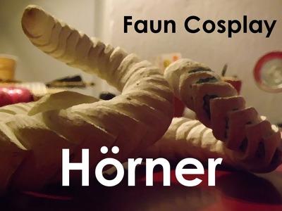 [Cosplay] Faun Hörner - 'Tutorial' | 'DIY'
