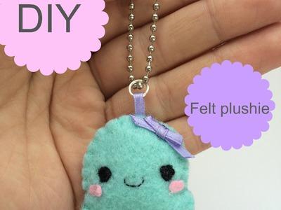 DIY .Kawaii Felt Octopus Plushie  tutorial