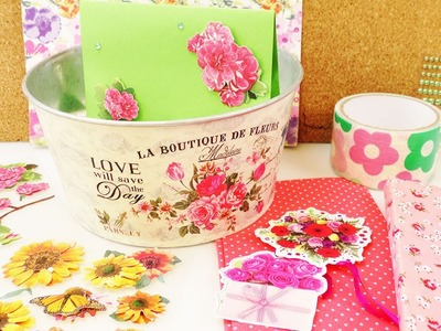 DIY Inspiration Challenge #49 Blumen Haul für unter 5€ | Kathis Challenge | Tutorial Do it yourself