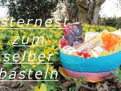DIY - Osternest (Osternest aus Gipsbinden basteln)