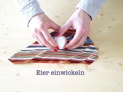 DIY Seiden-Eier: Ostereier mal anders färben!