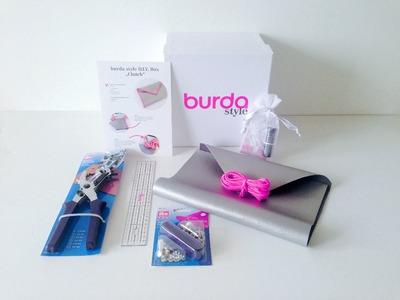 Burda style DIY Box 3 – Clutch