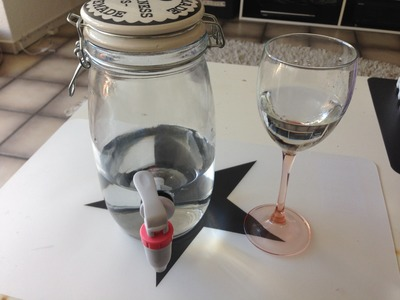 DIY Glas Getränkespender selber machen