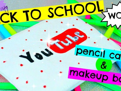 DIY YOUTUBE MÄPPCHEN I PENCIL CASE I MAKEUP BAG I BACK TO SCHOOL I PatDIY Lee