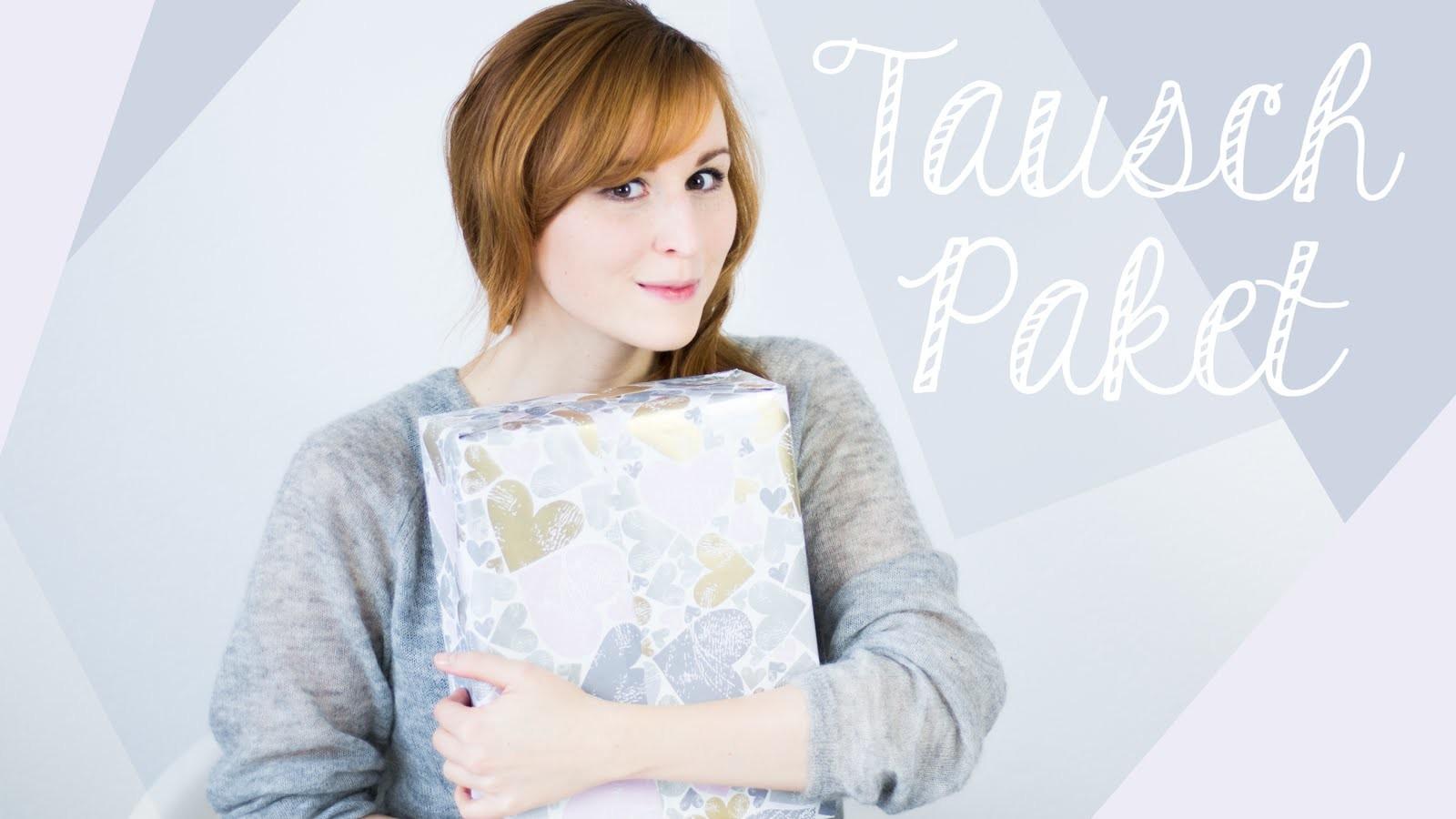 "Frühlingspost von Kathi & Eva vom Kanal ""DIY Inspiration"" - Tauschpaket Unboxing"