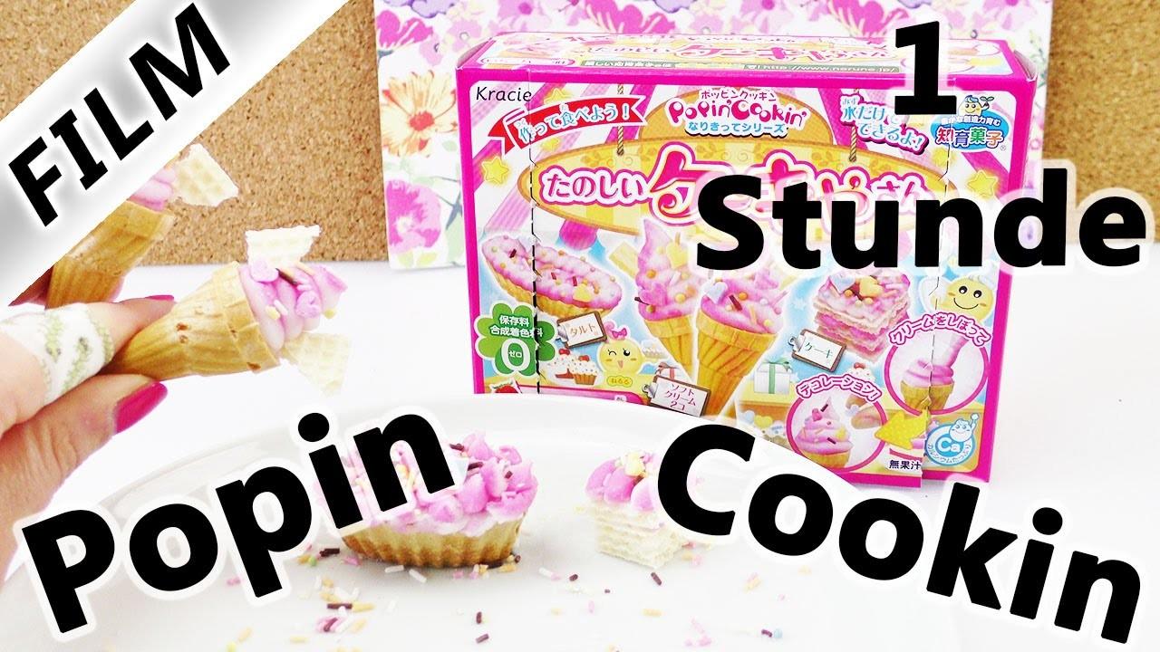 Popin' Cookin' Sets DIY Süßigkeiten von Kracie   Demos & Tests   Pizza, Softeis & Ramen   60 Min
